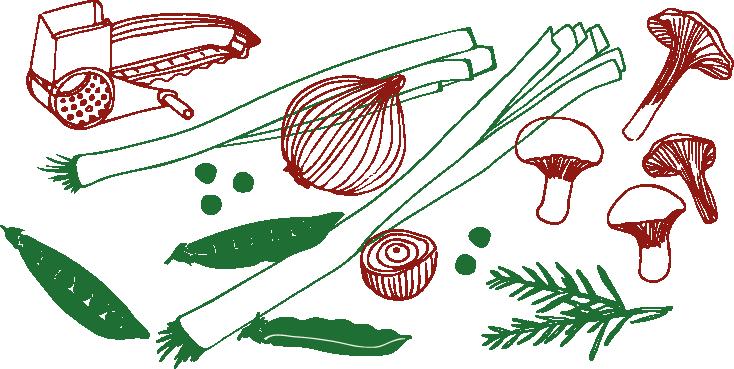 assiette potagère au gout des autres